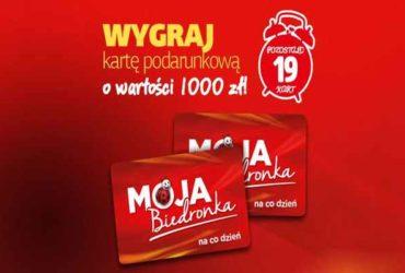 Promocja Biedronka Nowe Warpno  nagroda moja Biedronka