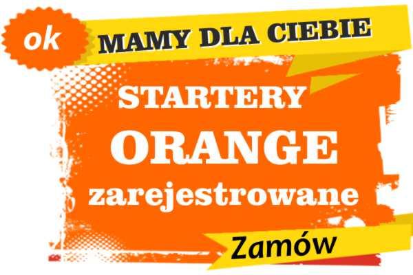 Sprzedam zarejestrowane karty sim orange Myślibórz  zadzwoń 887 332 665